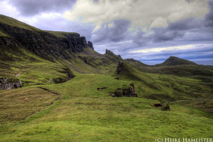 Scotland Tour 2013 – Tag 10 – Balranald – Lochmaddy – Uig (Isle of Skye) – Quiraing – Staffin (95 km)