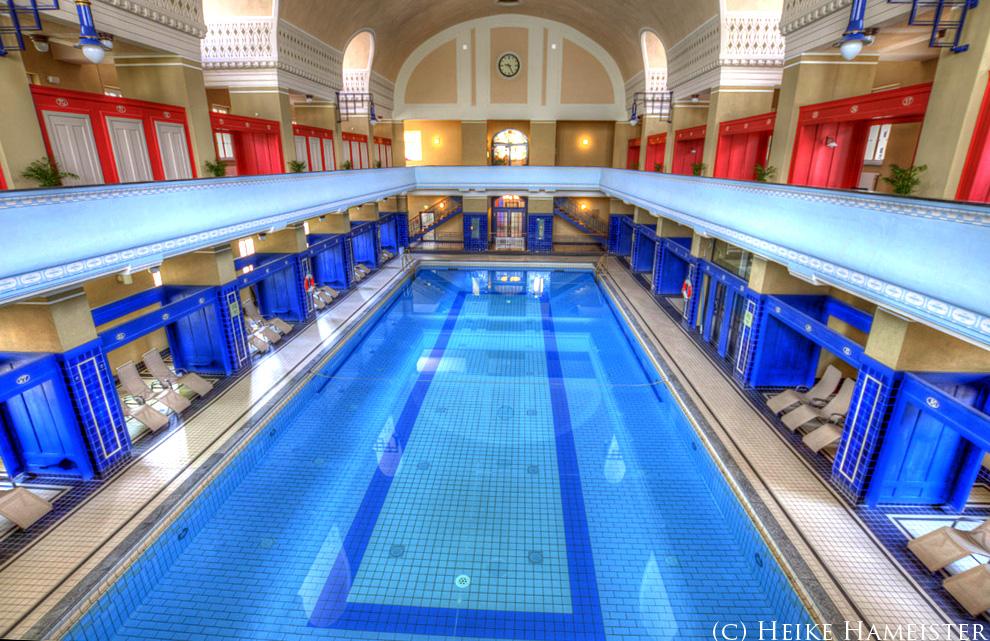 Schwimmbad Darmstadt hdr germany jugendstilbad darmstadt